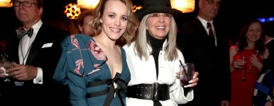 Rachel participa do American Film Institute's e homenageia Diane Keaton